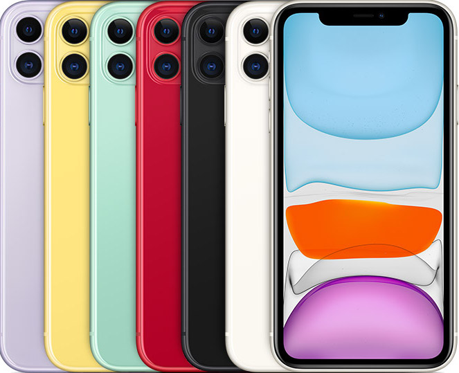 iPhone 11 6 colors