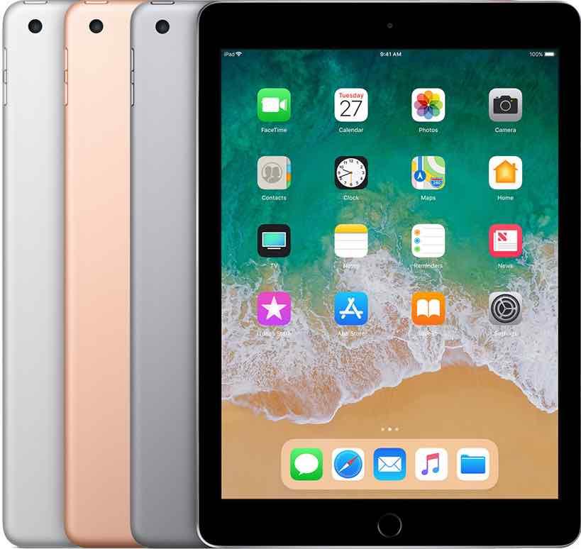 iPad 6 gen 2018